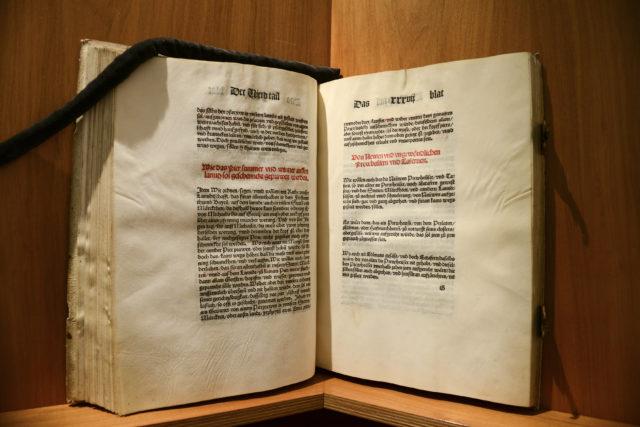Original des Bayerischen Reinheitsgebotes von 1516