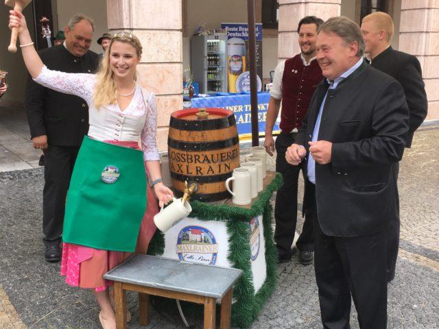 Sommerempfang bei Staatsminister Helmut Brunner