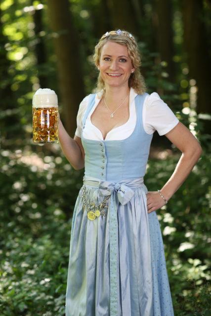 Bayerische Bierkoenigin 2018-2019 Johanna Seiler