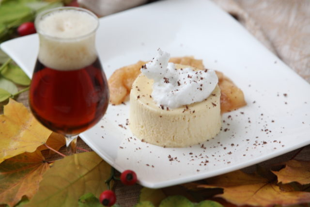 Bockbierparfait mit Apfel-Ingwer-Sauce_02