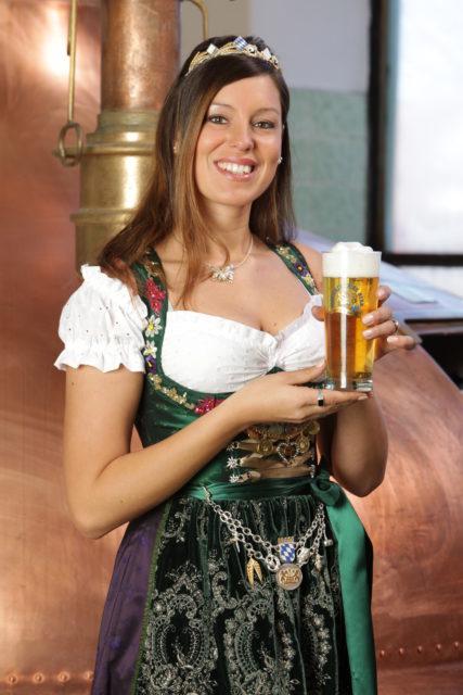 I. Bayerische Bierkönigin Franziska Sirtl 2009-2011
