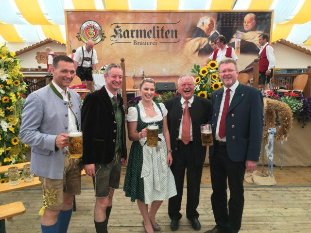 Gäubodenfest, Karmeliten Brauerei Karl Sturm GmbH & Co. KG, Straubing