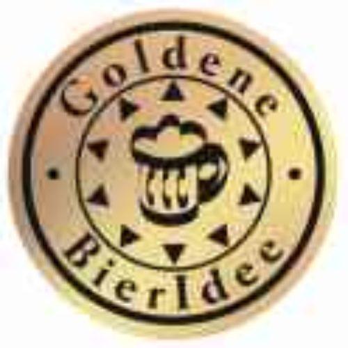 Gold.Bieridee auf Gold