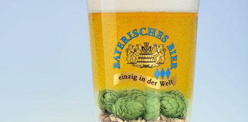 Für 0,5 Liter Bier sind ca. 85g Malzmischung und einige Dolden Hopfen bester Qualität notwendig