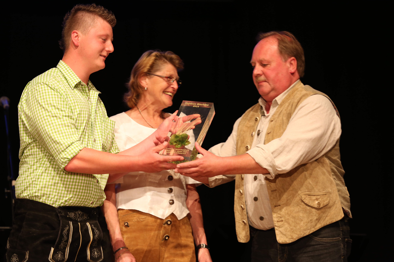 Verleihung der Goldenen BierIdee 2014 am 3. Juni in der Alten ...