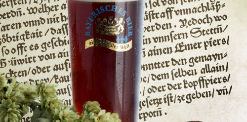 Bayerisches Reinheitsgebot-Pergament_Dunkles