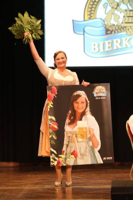 Abschied der Bayerischen Bierkönigin 2014 Tina Christin Rüger am 18.05.2015
