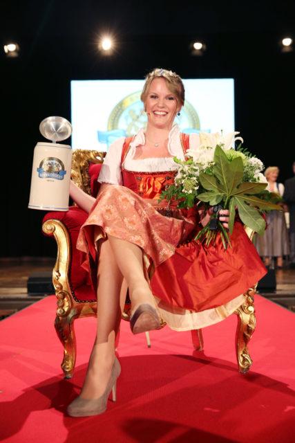 Bayerische Bierkönigin 2015/ 2016 Marlene Speck