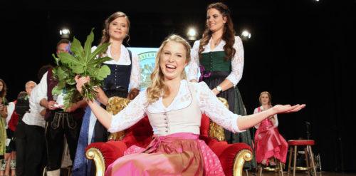 Bayerische Bierkönigin 2016/ 2017 Sabine-Anna Ullrich