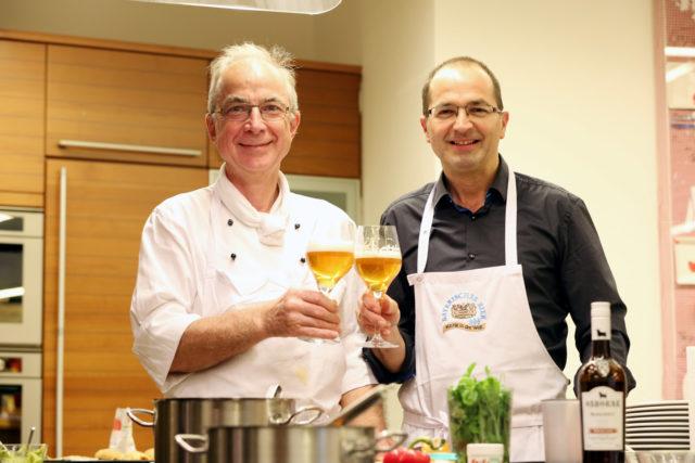 """Kochworkshop """"Street Food meets Craftbeer """" am 15.11.2016 , Sternekoch Werner Licht und Walter König, Bayerischer Brauerbund e.V."""