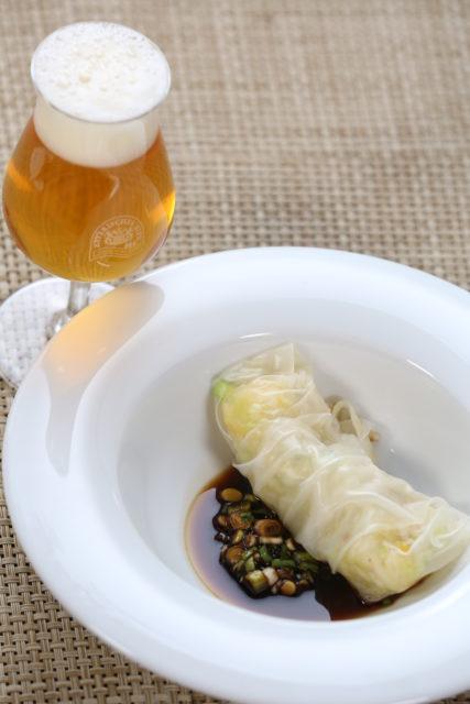 Reispapierröllchen mit Sojasauce und Pale Ale-3