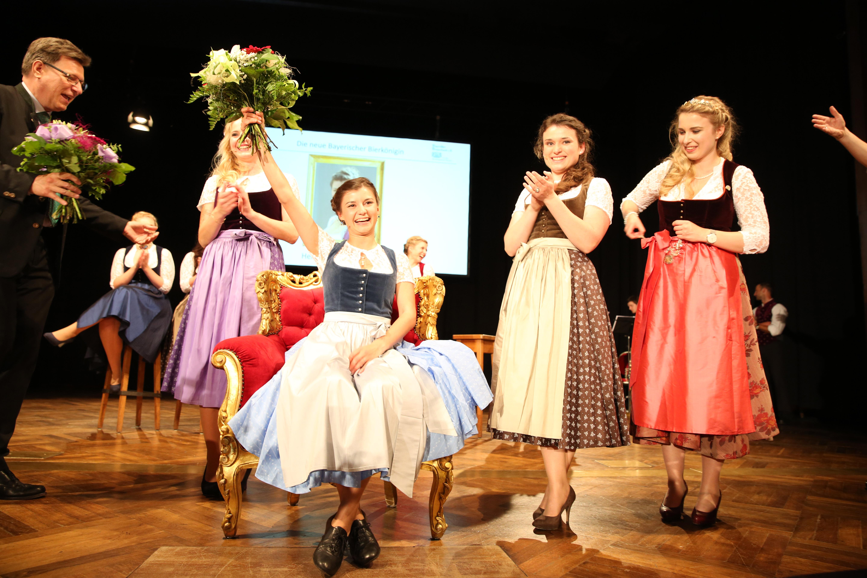 Bayerische Bierkönigin 2017/ 2018 Lena Hochstraßer