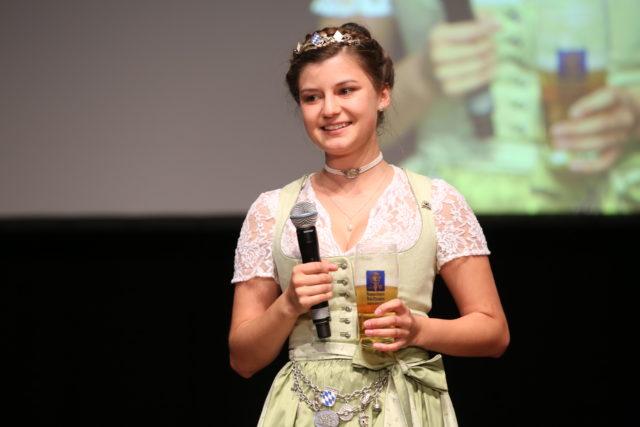 Abschied von der Bayerischen Bierkoenigin 2017-2018 Lena Hochstrasser