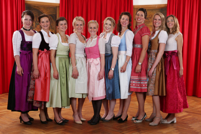 Alle unsere wunderbaren Bayerischen Bierköniginnen