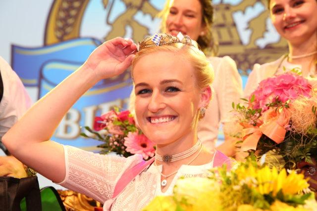 Bayerische Bierkönigin 2019-2020 Veronika Ettstaller
