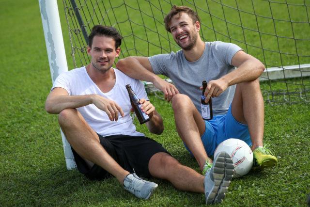 Fußball sitzend 2