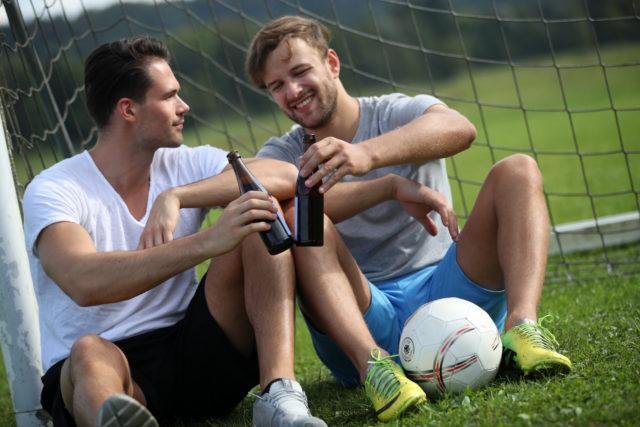 Fußball sitzend 3