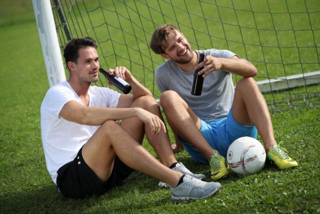 Fußball sitzend 4
